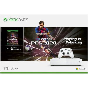 Console Xbox One S 1TB eFootball PES 2020 Bundle