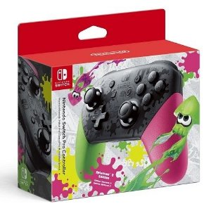 Controle Nintendo Switch Pro Controller Splatoon 2 Edition