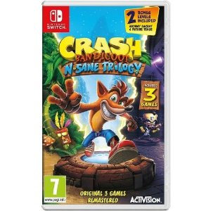 Crash Bandicoot N'sane Trilogy - Switch