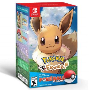 Pokémon Let's Go, Eevee! + Poké Ball Plus Pack - Switch