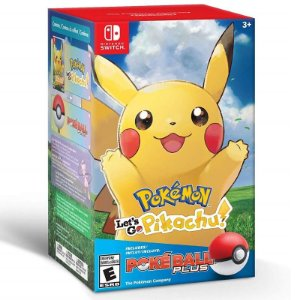 Pokémon Let's Go, Pikachu! + Poké Ball Plus Pack - Switch