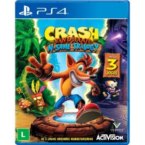 Crash Bandicoot N'sane Trilogy - PS4