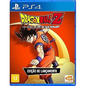 Dragon Ball Z Kakarot Edição De Lançamento - PS4