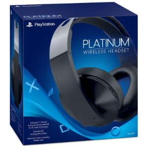 Headset Sony Platinum 7.1 3D Wireless - PS4