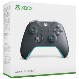 Controle Wireless Grey/Blue - Xbox One