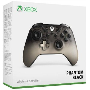 Controle Wireless Phantom Black - Xbox One