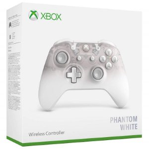 Controle Wireless Phantom White - Xbox One