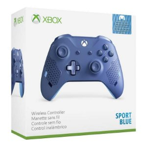 Controle Wireless Sport Blue - Xbox One