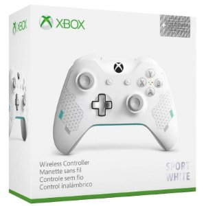 Controle Wireless Sport White - Xbox One