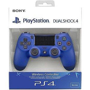 Controle Dualshock 4 Azul (Novo Modelo) - PS4