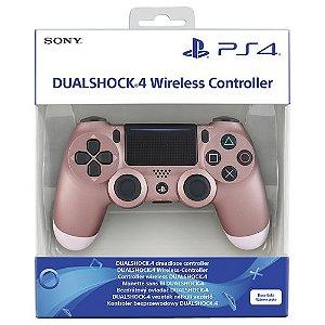 Controle Dualshock 4 Rose Gold (Novo Modelo) - PS4