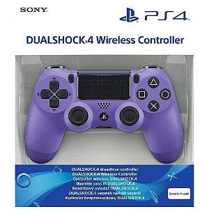 Controle Dualshock 4 Roxo Elétrico (Novo Modelo) - PS4