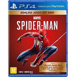 Marvel's Spider-Man Edição Jogo do Ano - PS4