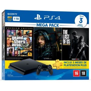 Console Playstation 4 1TB Slim Mega Pack 09