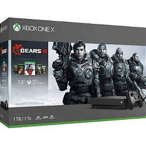 Console Xbox One X 1TB Gears 5 Bundle