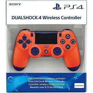 Controle Dualshock 4 Laranja Sunset (Novo Modelo) - PS4