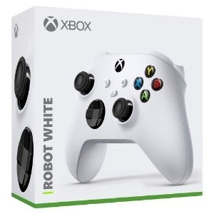 Controle Wireless Robot White - Xbox Series X e S