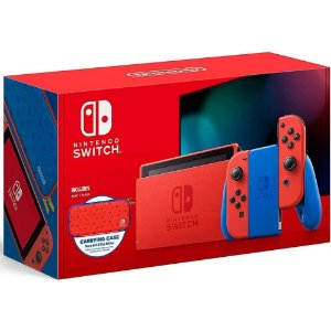 Console Nintendo Switch Mario Red & Blue Edition