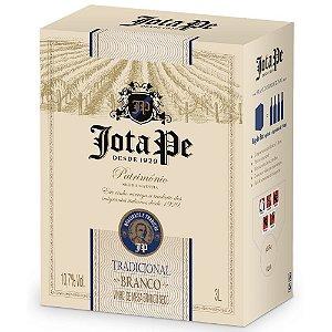 Vinho Branco Seco Tradicional Bag-in-Box 3L Jota Pe