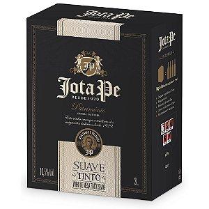 Vinho Tinto Suave Bag-in-Box 3L Jota Pe