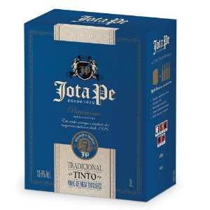 Vinho Tinto Tradicional Bag-in-box 3L Jota Pe