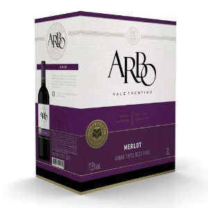 Vinho Merlot Arbo Bag-in-box 3L Casa Perini