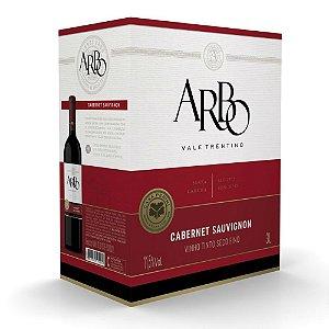 Vinho Cabernet Sauvignon Arbo Bag-in-box 3L Casa Perini