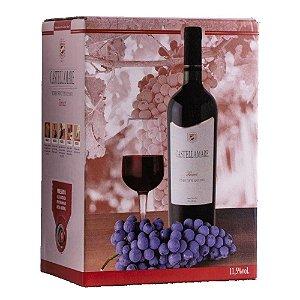 Vinho Tannat Bag-in-Box 3 litros Castellamare