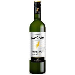 Vinho Branco Demi-Sec Fino Moscato 750ml Casa Perini Macaw