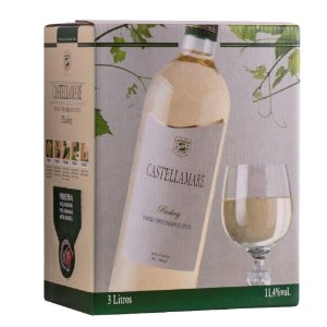 Vinho Riesling Bag-in-Box 3L Castellamare
