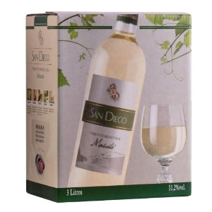 Vinho Moscato Bag-in-Box 3L San Diego