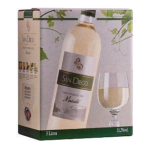 Vinho Moscato Bag-in-Box 3L San Diego