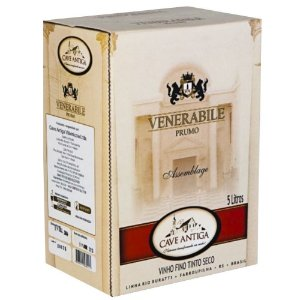 Vinho Tinto Venerabile Prumo Bag-in-Box 5L Cave Antiga