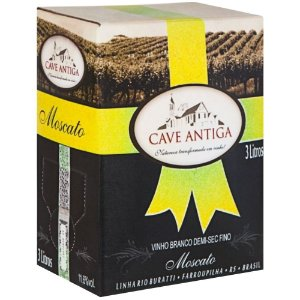 Vinho Moscato Bag-in-Box 3L Cave Antiga