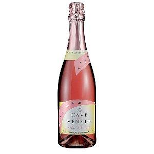 Espumante Moscatel Rosé Cave Del Vêneto Chesini