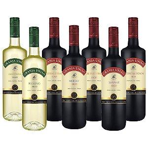 Kit de Vinhos Granja União Garibaldi