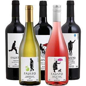 Kit de Vinhos Fausto de Pizzato