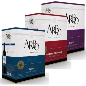Kit de Vinhos Arbo Bag-in-Box 3L Casa Perini