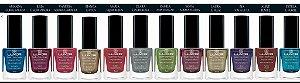 SUPER PROMOÇÃO-Kit Esmaltes Luxor Mulheres com Efeitos Especiais.(Coleção 8 Esmaltes,cores diferentes)