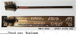 Pincel profissional escovinha para sobrancelhas 3032