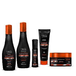 Cachos Poderosos Loo Pow  Nutriminas (shampoo ,condicionador,mascara e finalizador)CC Cream ilustrativo
