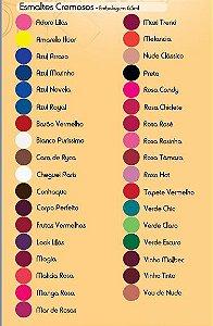 Esmalte Fusion Vinho Tinto