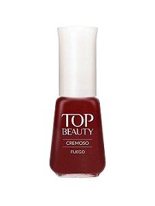 Esmalte Top Beauty |Cremoso Fuego