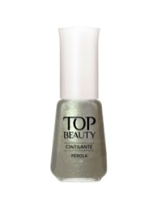 Esmalte Top Beauty Cintilante Perola
