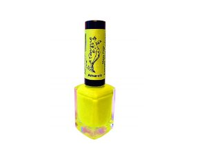 Esmalte Lafemme Neon Fest Amarelo Carimbo