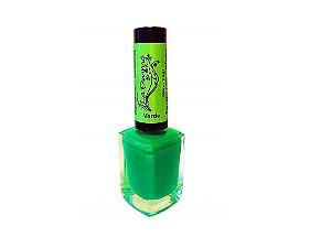 Esmalte Lafemme Neon Fest Verde Carimbo