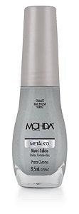 Esmalte Mohda Metalico Prata Crome