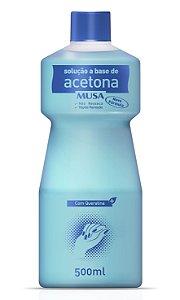 Solução a Base de Acetona com Queratina - 500 mL