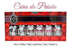 Kit Esmalte Diva Cores da Paixão (Coleção Com 6 Lindos Esmaltes)