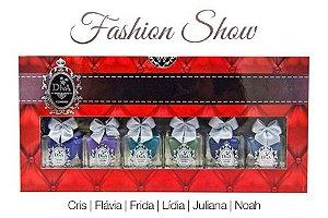 Kit Esmalte Diva Fashion Show (Coleção Com 6 Lindos Esmaltes)